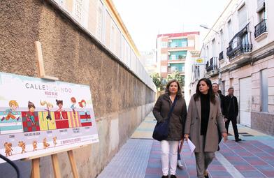 Un recorrido peatonal une la iglesia de Benicalap con el Nuevo Mestalla