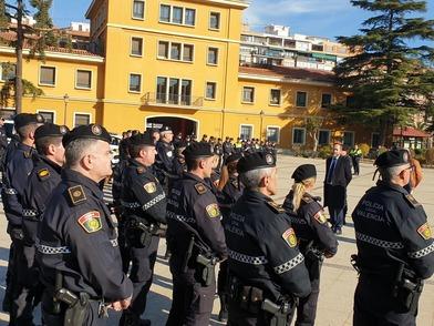 Presentación de la nueva Unidad de Convivencia y Seguridad, UCOS, de la Policía Local.