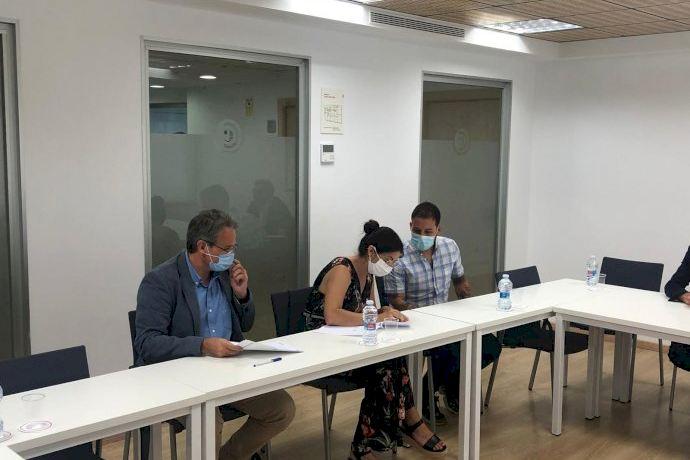 Histórico acuerdo de mediación entre el Ayuntamiento y la Asociación de Vecinos del Tramo IX