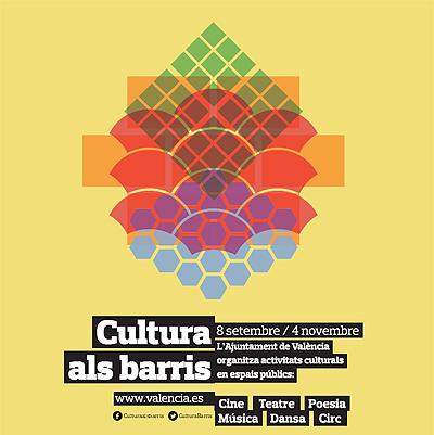 Cultura als barris reune 120 actividades culturales en València