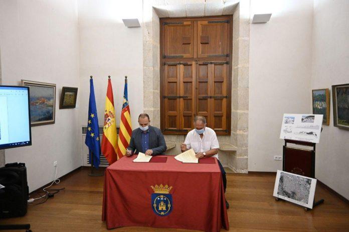 Firmado el convenio para la urbanización de la cuesta de San Miguel