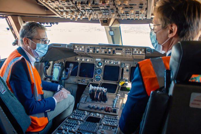 El aeropuerto de Castellón recibe el segundo Boeing 747-400 para su desmontaje